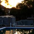 Photos: プールの夕暮れ