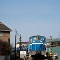 Photos: 青い機関車