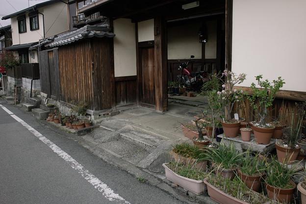 バイクのある家