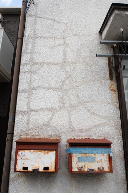 Photos: 2つのポスト