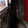Photos: 自販機コーナーの片隅で