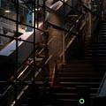 Photos: 階段にて