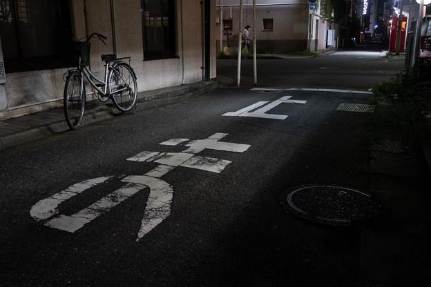 Photos: 十字路の自転車