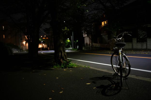 Photos: 歩道のチャリ