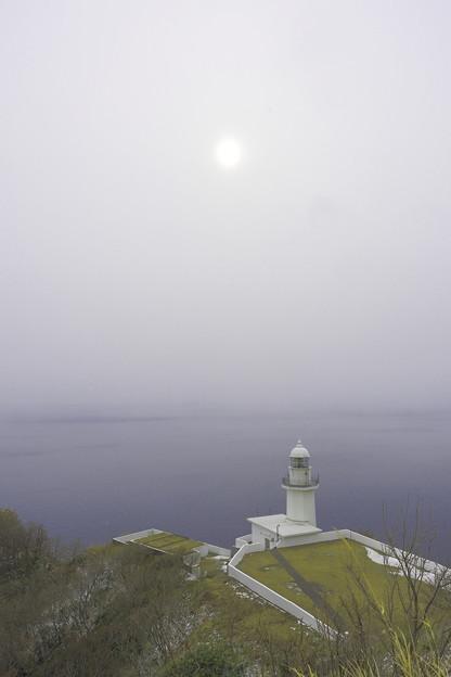 曇天の地球岬