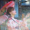 Photos: 虹が彩る浴衣の夏