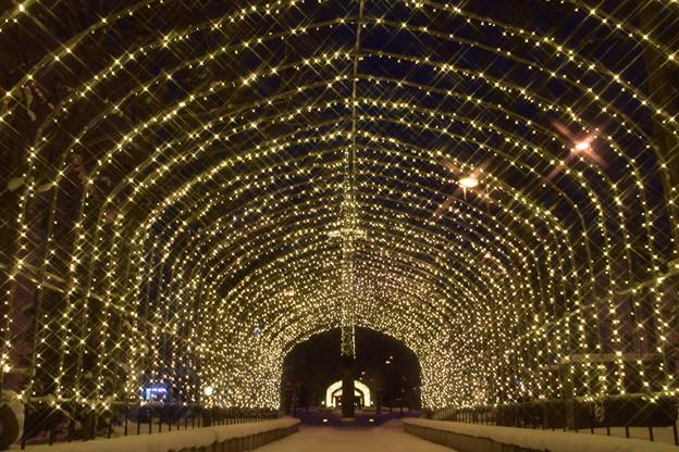 イルミトンネル