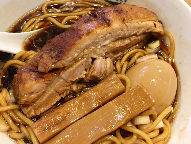 人類みな麺類、microの肉と竹と玉