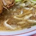 ラーメン二郎 京都店、非乳化スープ