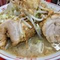 ラーメン二郎 京都店、肉2個