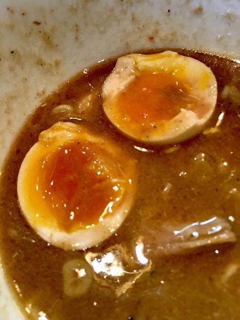 麺屋 和利道、味玉トロトロ