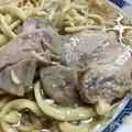 ラーメン二郎 目黒店、小ラーメンニンニクヤサイの豚