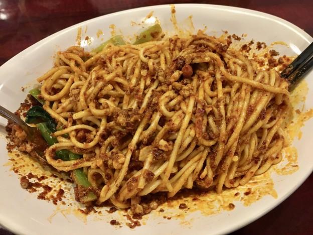 中国家庭料理 楊、汁なし担々麺混ぜた