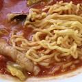 Photos: 一番飯店、トマトタンメンの麺