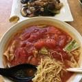 Photos: 一番飯店、トマトタンメンと特製上海焼きそば