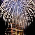 写真: IMG_2802 (3) 海王丸と花火