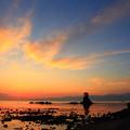 写真: 雨晴海岸の夜明け IMG_3581