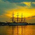 写真: 海王丸パークの夜明け IMG_5564