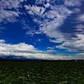 写真: 河北潟干拓地の雲 IMG_9933