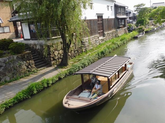 八幡堀 屋形船