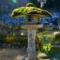 Photos: 山寺の苔灯籠