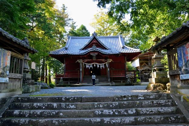 Photos: 椋神社拝殿