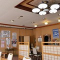 Photos: 『鹿の子』食堂内部