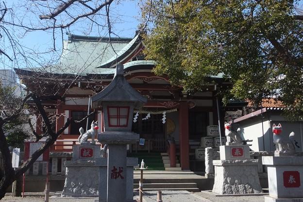 桜森稲荷神社本殿
