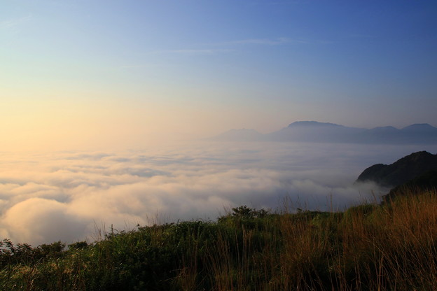 写真: ☆雲海の波