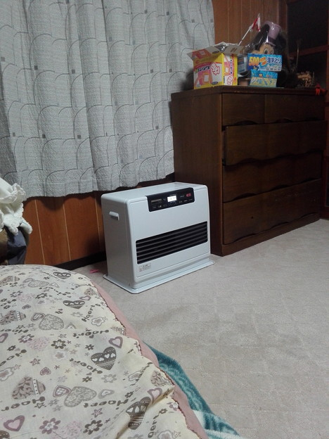 暖房器具ですよ