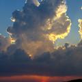 38℃の雲