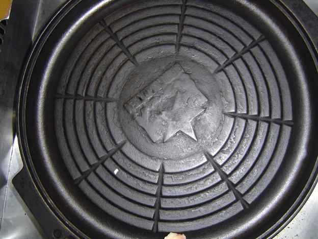サッポロビール園 ジンギスカンの鍋