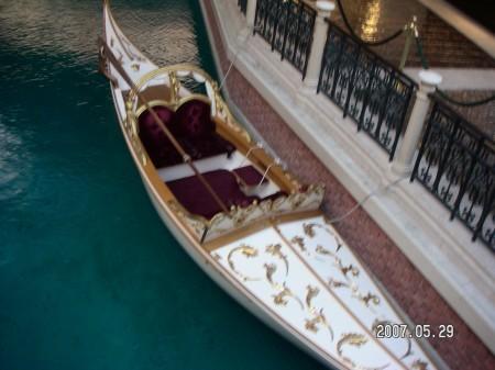 Venetianのゴンドラ(有料)