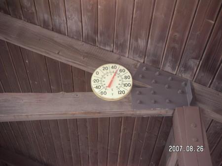 2800mの気温は10℃