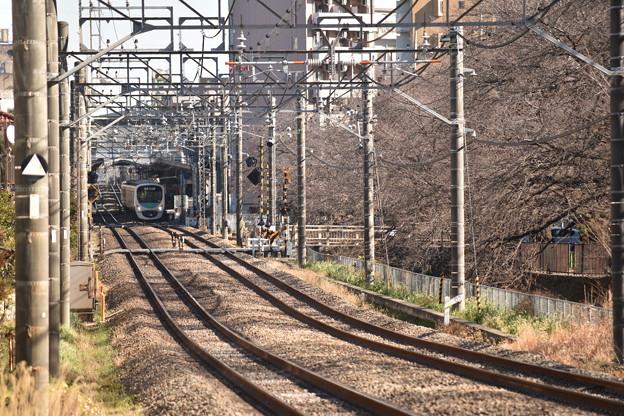 武蔵関駅と30000系