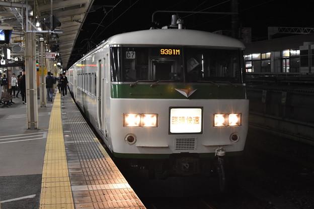 ムーンライトながら 浜松駅にて