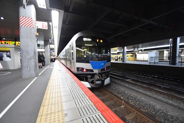 マリンライナー 岡山駅にて