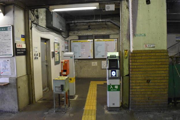 国道駅改札2