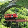 石橋と列車1