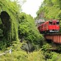 石橋と列車2