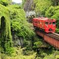 石橋と列車3