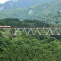 鉄橋の上へ