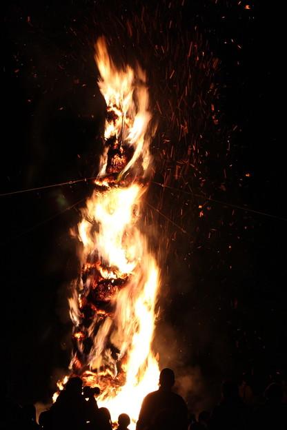 トンド火まつり