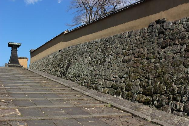 大原邸の石垣