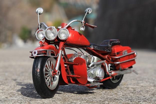 写真: オールドバイク