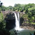 ハワイ島レインボー滝
