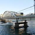 隅田川を渡る総武線