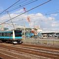 Photos: 新駅前通過京浜東北
