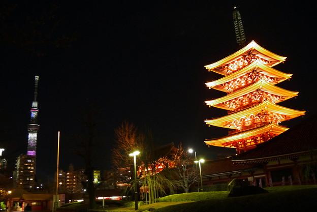 Photos: 浅草寺五重塔
