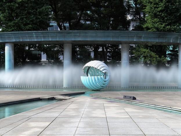 噴水モニュメント